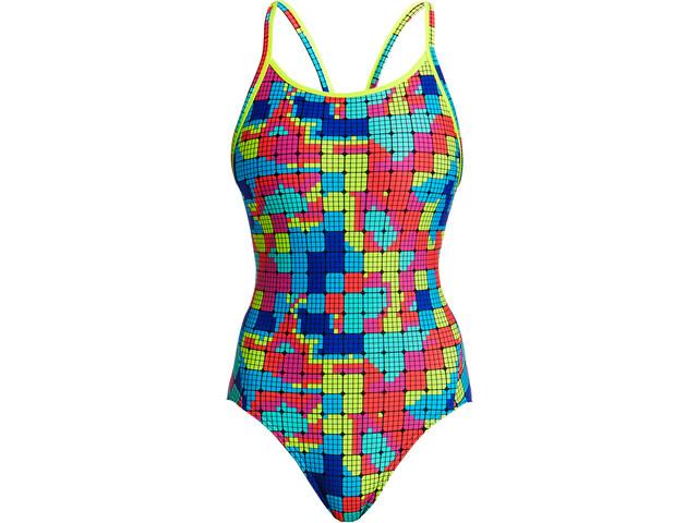 Funkita Diamond Back One Piece Swimsuit Women heat map